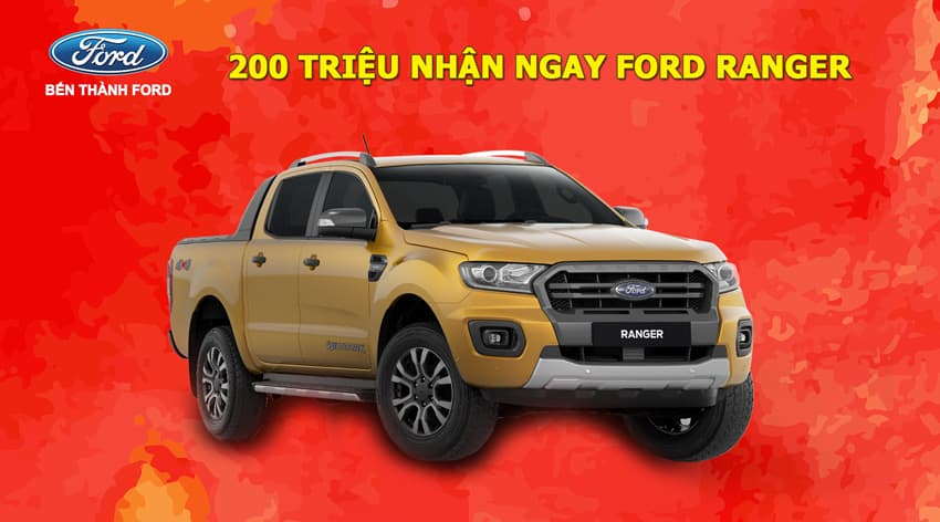 Thủ tục, tư vấn mua xe Ford Ranger trả góp