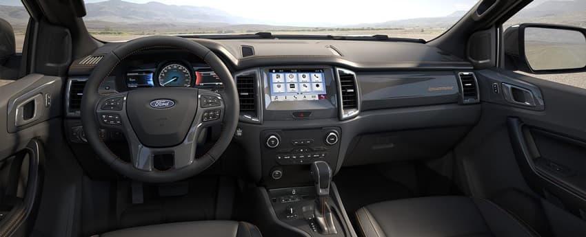 Nội thất Ford Ranger