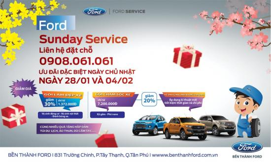 Ford Sunday Service